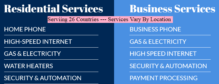Available Services for Home And Business
